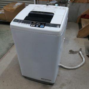 日立 HITACHI 洗濯機 NW-7MY 2012年製 7㎏ 白い約束 日立全自動電気洗濯機 電気洗濯機 全自動