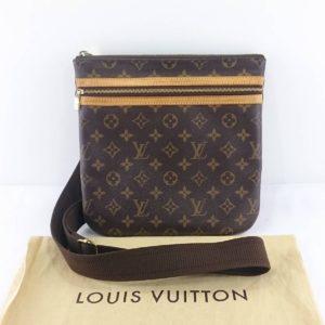 LOUIS VUITTON ルイ・ヴィトン モノグラム ポシェットボスフォール ショルダーバッグ 鞄