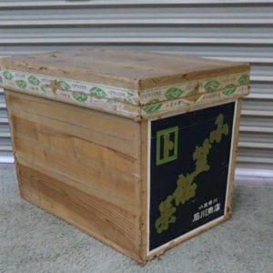 レトロ 茶箱 木箱 保管箱 インテリア 入れ物