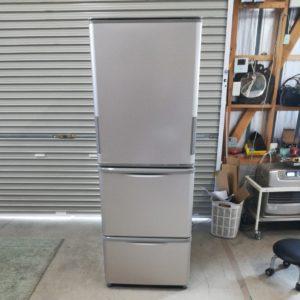 SHARP シャープ 冷蔵庫 SJ-WA35A-N 3ドア 両開き