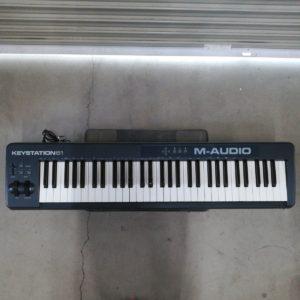 キーボード 電子ピアノ KEYSTATION 61 M-AUDIO