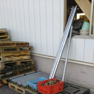 単管パイプ 鉄パイプ クランプ ベース 足場材 キャップ