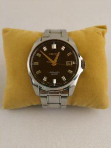 SEIKO セイコー 腕時計 6R15-00H0 自動巻き シースルーバック メンズ