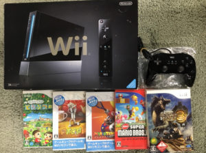Wii本体 ゲームソフト5本セット