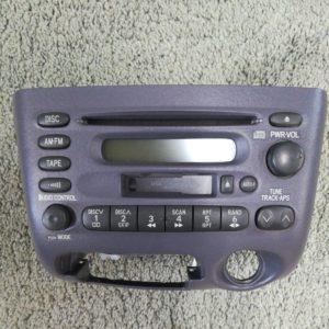TOYOTA トヨタ オーディオ ヴィッツ CD カセット ラジオデッキ