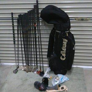 ゴルフクラブ15本セット Callaway mizuno Secury