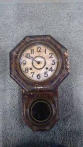 八角時計 レトロ 掛け時計 掛時計 時計 アンティーク 振り子時計