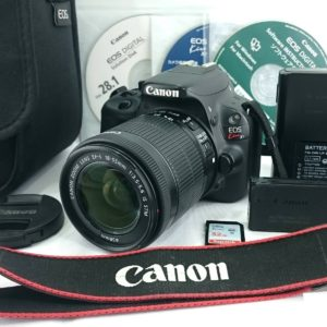 Canon キャノン EOS Kiss X7 ボディ レンズ セット ZOOM LENS EF-S 18-55mm 1:3.5-5.6 IS STM