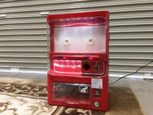 マサオコーポレーション 自動販売機 保冷庫 赤