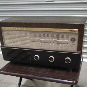 ナショナル 真空管 ラジオ CX-550 レトロ インテリア