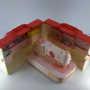 小さなおうちのおはり箱 おもちゃ ミシン
