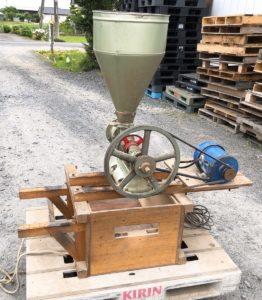 中村製作所 中村式粉砕機 精粉機 200V N-3型 製粉機 製粉 粉砕機 農機具