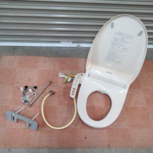 温水洗浄便座 Panasonic パナソニック ウォシュレット DL-EGX10-CP 2014年製 箱付き