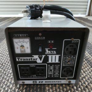 スズキッド変圧器 トランスターⅧ 200V2口 100V2口 3KVA
