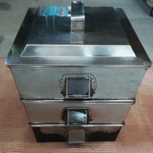 業務用 角型蒸し器 3段 厨房機器 厨房用品