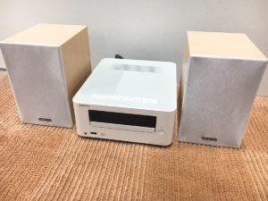 ONKYO CDレシーバーシステム CDコンポ スピーカー 2017年製 CR-U6 D-U6