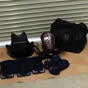 剣道 防具 セット 面 小手 垂れ 胴 専用バッグ付き