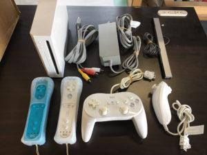 ニンテンドー 任天堂 Wii本体 RVL-001(JPN) 電源アダプター AVケーブル Wiiコントローラー テレビゲーム