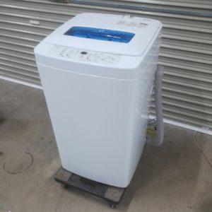 Haier ハイアール JW-K42K 全自動洗濯機 風乾燥機能付き 洗濯機 4.2㎏