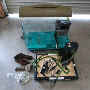 水槽セット 海水魚 熱帯魚 エアーポンプ