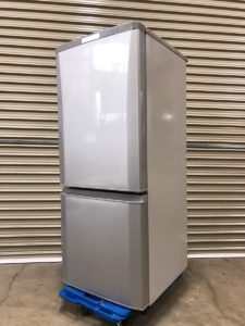 MITSUBISHI 三菱 2ドア ノンフロン冷凍冷蔵庫 146L MR-P15Z-S 2016年製