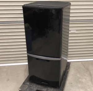 ナショナル ノンフロン冷凍冷蔵庫 家電 NR-B143J-K