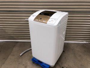 ハイアールの7kg用の全自動洗濯機JW-K70M