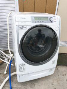 東芝のドラム式洗濯機 TW-4000VFL
