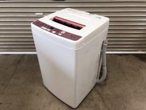 アクアの全自動洗濯機 6.0kg用 AQW-KS6E 2016年