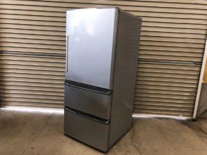 AQUAのノンフロン冷凍冷蔵庫 2016年製 AQR-271E シルバー 取説付き 冷蔵庫 アクア
