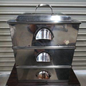 業務用 蒸し器 角型蒸し器 3段 厨房機器
