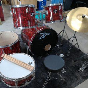ドラムセット ZEN ゼン 打楽器 楽器