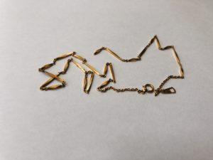 金 ゴールド K18 ネックレス