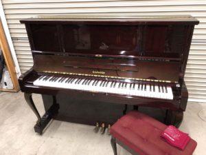 ディアパソンのアップライトピアノ 125SK 木目艶出し仕様