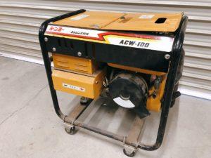 デンヨーのエンジン溶接機 発電機 ACW-100