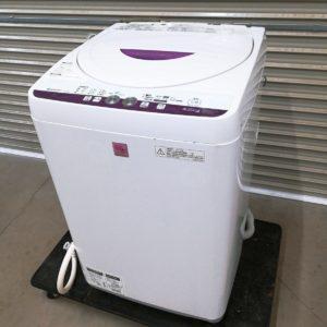 SHARP シャープ 全自動電気洗濯機 4.5kg ES-G4E2-KP 2015年製
