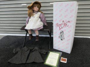 Cadeaux ポーセリンドール ビスクドール チャイナドール 人形 porcelain doll 置物 飾り物 ディスプレイ アンティーク