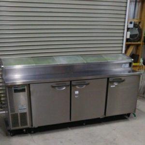 ホシザキ ネタケース付きテーブル形冷蔵庫 RTN-210SNC 寿司 ネタケース コールドテーブル 業務用 冷蔵庫