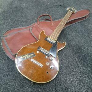 ELK エルク エレキギター ダブルカッタウェイ ミニハムバッカー  買取いたします  ひたちなか
