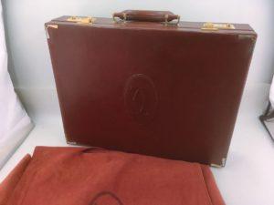 稀少 Cartier カルティエ アタッシュケース マストライン  買取いたします  茨城 出張リサイクルショップ24時 水戸