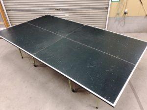 河合楽器製作所 KAWAI 卓球台 折りたたみ式 移動キャスター付き 買取いたします  茨城 出張リサイクルショップ24時 日立