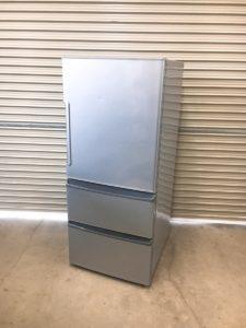 つくばにてAQUAのノンフロン冷凍冷蔵庫 AQR-271E の出張買取いたしました