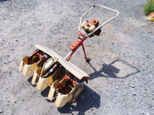 日立にてオータケのミニカルチ 水田中耕除草機の 出張買取いたしました