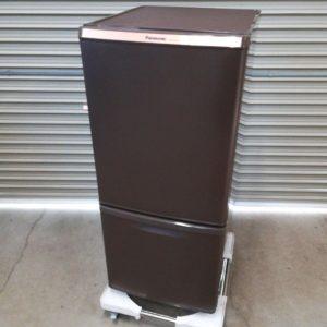 日立にてPanasonic パナソニックのノンフロン冷凍冷蔵庫のNR-B148W-T 2015年製を出張買取いたしました