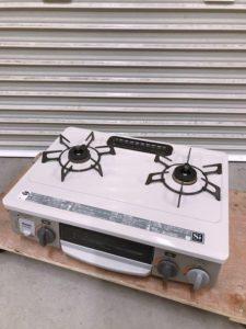 常陸大宮市にてリンナイのグリル付きガステーブルKGM33NBELを出張買取いたします