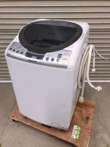 常陸太田にてパナソニック 乾燥機付き全自動洗濯機NA-FR801を出張買取いたしました
