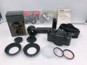 いわきにてコンタックスの一眼レフカメラを出張買取いたしました