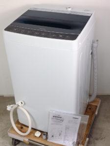 いわきにてハイアールの全自動洗濯機JW-C45Aを出張買取いたしました