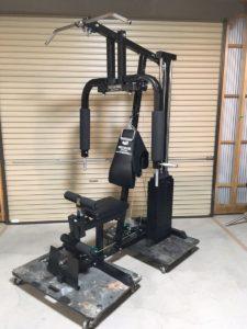 常陸太田にてファイティングロードのマルチトレーニング用のホームジム を出張買取いたしました