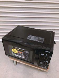那珂市にてアイリスオーヤマの電子レンジIMB-F183-5を出張買取いたしました